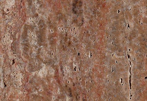 Copper Red Travertine